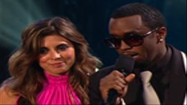 Diddy, Jamie-Lynn Sigler Present Best Male Video Nominees
