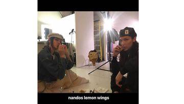 ベラ・ハディッドとケンダル・ジェンナー、久々のファストフードを楽しむ