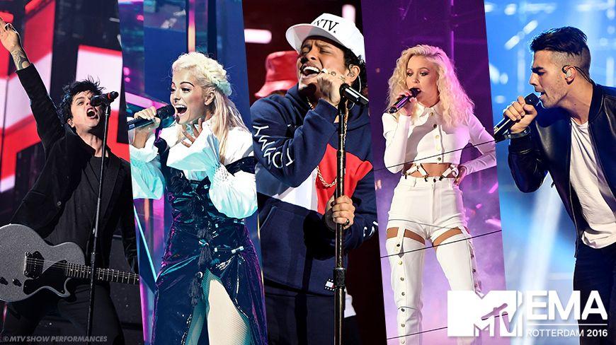 2016 MTV EMA Main Show