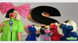 Sia、素顔で『セサミストリート』に出演