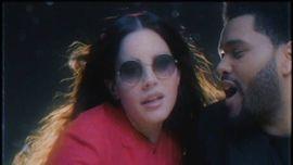 ラナ・デル・レイとザ・ウィークエンドがロマンチックな新曲を披露