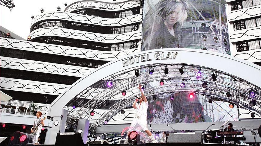 GLAY STADIUM LIVE 2012 THE SUITE ROOM IN OSAKA NAGAI STADIUM