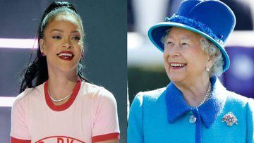 リアーナ、エリザベス女王のコラ画像を掲載して賛否両論