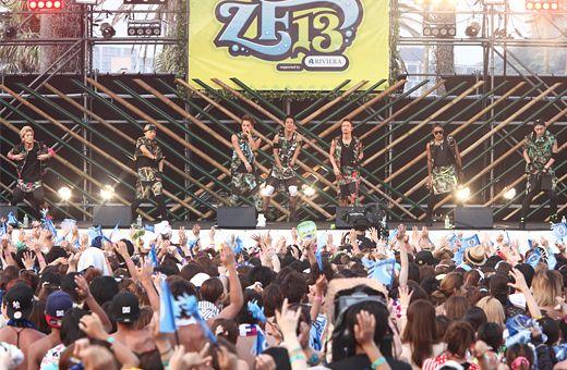 MTV ZUSHI FES 13 ライブレポート