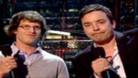 Jimmy Fallon, Andy Samberg Present Video Of The Year Nominees