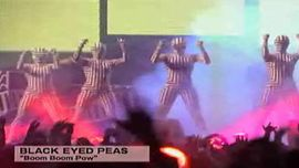 "BLACK EYED PEAS ""Boom Boom Pow"" (Live Performance)"