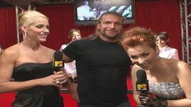 DJ KAORIのインタビュー速報 WWE Superstar Triple H & WWE Diva Michelle McCool