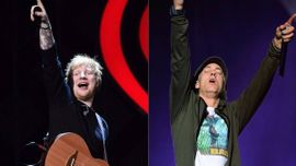 エミネムとエド・シーランのコラボ曲「River」、UKチャートで1位に!