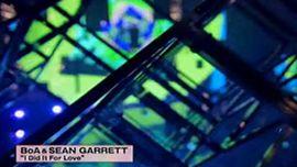 "BoA & SEAN GARRETT ""I Did It For Love"" (Live Performance)"