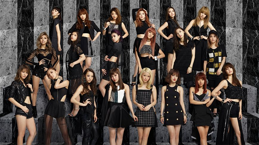 E-girls SUPER LIVE COLLECTION