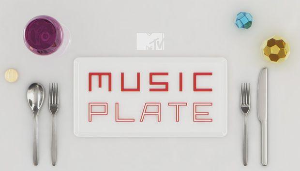 MTV MUSIC PLATE