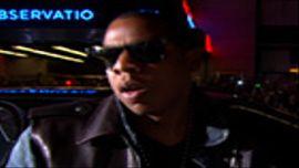 Jay-Z Arrives